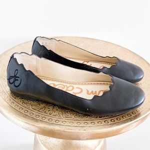 Sam Edelman Finnegan Scallop Leather Flats